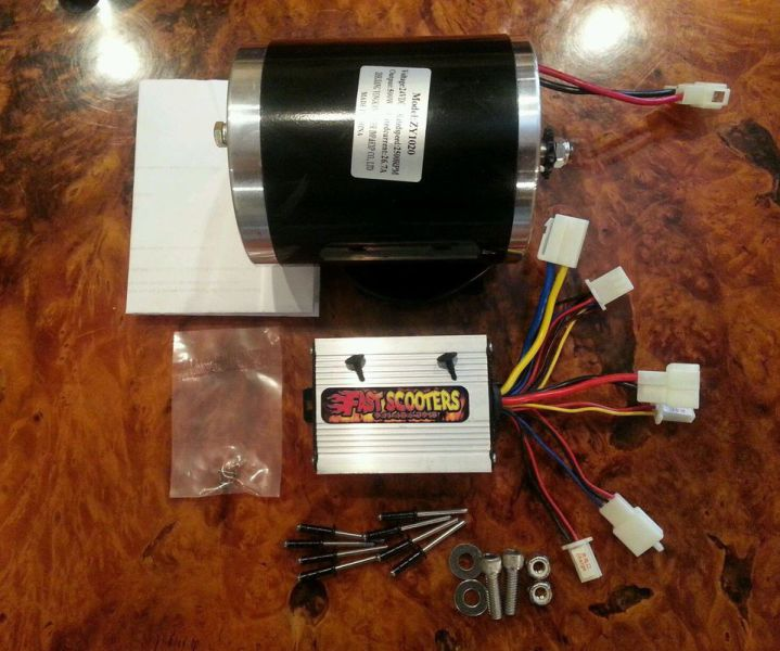 Cruzin Cooler Upgrades 750 W complet Tune up kit